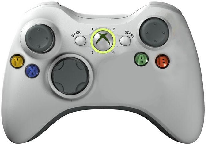 A modified Xbox 360 controller, version 1