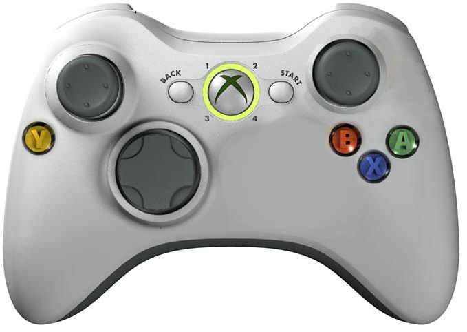 A modified Xbox 360 controller, version 2